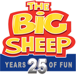 The Big Sheep is a family fun attraction you can enjoy while on holiday at Hill Farm Cottages.