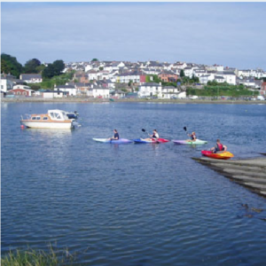 There are lots of place to go kayaking while on holiday in North Devon.